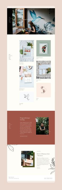 Web design by Wayfarer Design Studio // design, branding, brand, brand identity, logo, logos, graphic design, identity, web, website, website design, blogger, blog design, lettering, hand lettering, blogging, illustration