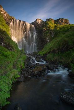 Clashnessie Falls, Assynt Parish, Scotland