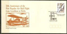 Australia to commemorate 70th Anniversary of Air Mail Flight