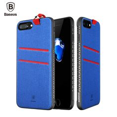 Find More Phone Bags & Cases Information about BASEUS Brand LANG Series PC+PU+TPU Hybrid Card Holder Back Case For iPhone 7 Plus With Hanging Rope 5.5 inch Mobile Phone Case,High Quality case for iphone,China phone cases Suppliers, Cheap case brand from UNIFISH Store on Aliexpress.com