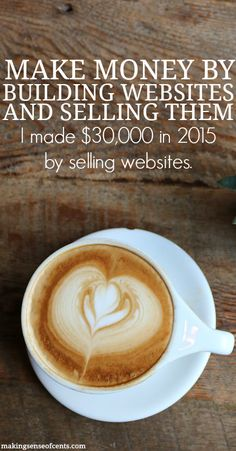 How do you build websites up to sell them? I sold three websites in 2015 and made a $30,000 profit. Click on over to my post and read this month's Featured Question to see my answer.