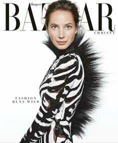 Harpers Bazaar June/July 2013 Christy Turlington photographed by Daniel Jackson.