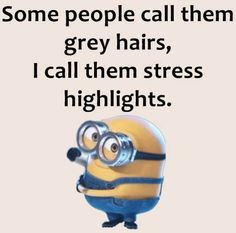 """Nor yet got one of those """"stress highlights"""" but can relate"""