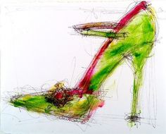 Love Shoe Art!
