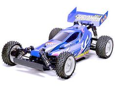 The Tamiya Gravel Hound is an easy to control and perfectly balanced 1/10th scale radio control car for off-road running and jumping. The DF-02 chassis features longitudinally mounted motor and battery, and powerful Type 540 motor combined with 4 oil dampers.    The Tamiya Gravel Hound is equipped with a sleek design polycarbonate body ensuring durability combined with a cool look. This is the perfect buggy for all radio control off-road fans.