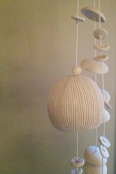 McCarty wind chimes - I love these. I think they look like jellyfish.