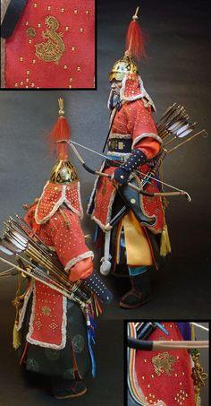 Fantasy Female Warrior, Fantasy Armor, Chinese Armor, Dynasty Warriors, Renaissance Era, Medieval Armor, Korean Art, Korean Traditional, Ancient China