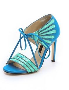 19 Dreamy Sandals That Deserve Your Undivided Attention  turquoise n aqua sandals