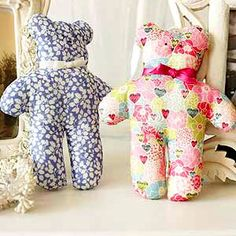 Tiny teddies to sew - Fundraising ideas to make for a fête - Craft - allaboutyou.com