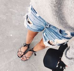 Via by street_style_paris Summer Outfits, Casual Outfits, Cute Outfits, Mode Style, Style Me, Passion For Fashion, Love Fashion, Jeans Fashion, Fashion Outfits