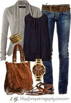 Love this outfit and the little cardigan!