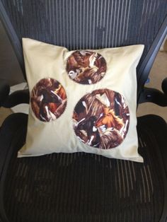 Removable, washable ever so cute decorative pillow case!