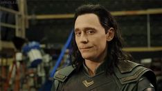 Are secrets behind the funny face of Loki?