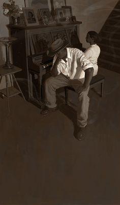 Raymond Bonilla: Piano Lesson
