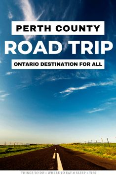 Looking for a great Ontario destination to visit? Here's your Ontario road trip guide to Perth County! Discover why this area has something for everyone from foodie to families! I things to do in Perth County Ontario I Ontario travel I road trips in Ontario I where to go in Ontario I things to do in Ontario I Ontario destinations I places to visit in Ontario I #Ontario #PerthCounty #Canada Road Trip, Ontario Travel, Canada Destinations, Canadian Travel, Visit Canada, I See It, Travel Advice, Australia Travel, Travel Around The World