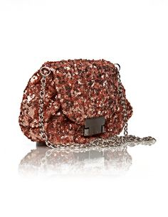 FOLLOW US and you may win this gorgeous KAREN sequined clutch!! don't miss out!