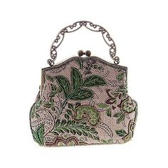 New Trending Make Up Bags: Covelin Womens Vintage Clutch Handbag Flower Beaded Evening Tote Bag Hot Green. Covelin Women's Vintage Clutch Handbag Flower Beaded Evening Tote Bag Hot Green  Special Offer: $21.99  111 Reviews New arriving 2016 evening handbag! What a stunning evening bag! Structures External: GORGEOUS LOOK. Vintage style, perfect for party, wedding, dating and other...