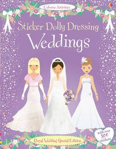 Sticker Dolly Dressing Weddings - Sticker Dolly Dressing (Paperback)