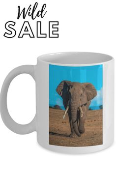 the best elephant gift you could give. grab one for a loved one today #elephantcoffeemug Elephant Gifts, Coffee Cups, Ceramics, Mugs, Prints, Ceramica, Coffee Mugs, Pottery, Tumblers