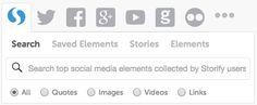 #Storify combineert vele sociale media kanalen