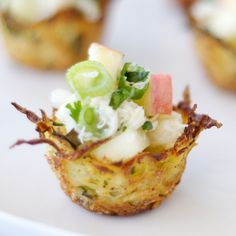 Potato Nests with Gingered Crab