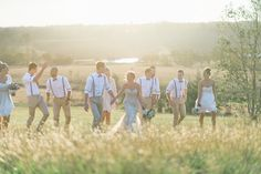 A beautiful shoot of happiness moment with groomsmen and bridesmaids for your wedding photo inspiration   http://www.bridestory.com/blog/a-rustic-open-air-wedding-in-hunter-valley-sydney