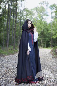 Image result for female medieval cloak