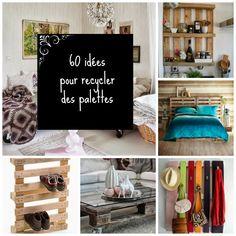 HOME & GARDEN: 60 idées pour recycler des palettes