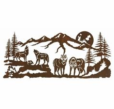 Shop wildlife metal wall decor & wall art that will bring the outdoors to your home, apartment, cabin & lodge. Huge variety of rustic wildlife designs, cabin decor & lodge decor. Tree Wall Art, Tree Art, Metal Walls, Metal Wall Art, Scroll Saw Patterns, Wood Patterns, Metal Tree, Art Mural, Woodworking Crafts