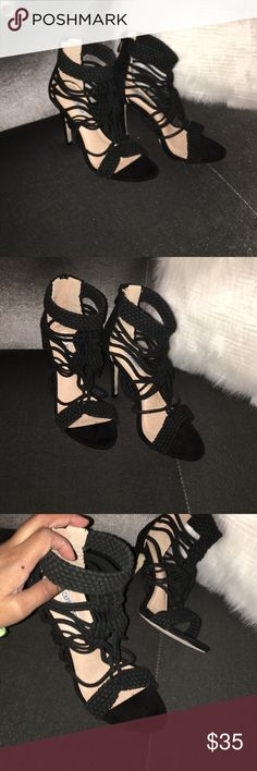 Womens High Heel Shoes Hello ❤️❤️ Thanks For Viewing This Item. I Used To Own A Boutique And Now Everything Must Go.  Item Info:  💎Runs A Whole Size Small 💎 Brand New/With Or Without Tags 💎 May Have A Box But Most Don't  💎 Heel Size 4-4.5 inch  ✨All Offers Accepted✨  All Items are brand new and marked really low so please make a reasonable offer. Bundle To Get $$$ off.  All items ship same day  Follow Instagram.com/soleaddictz www.SoleAddictz.com Shoes Heels