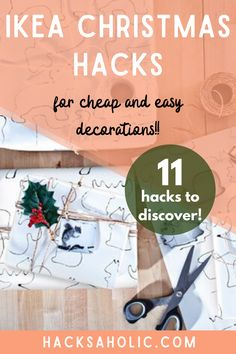Some original Christmas decorations made with Ikea products. These Ikea Christmas hacks are stunning. #ikeachristmashacks #christmashacks #ikeahack Christmas Tree Base, Ikea Christmas, Christmas Hacks, Woodland Christmas, Magical Christmas, Christmas Mugs, Glass Bell Jar, Ikea Furniture Hacks, Ikea Products