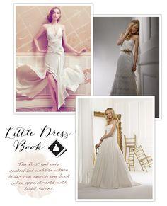 Little Dress Book, cute dress in upper left hand corner.