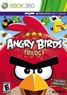 Angry Birds Trilogy  Xbox 360 by Activision * Details can be found by clicking on the image.(It is Amazon affiliate link) #onedirection