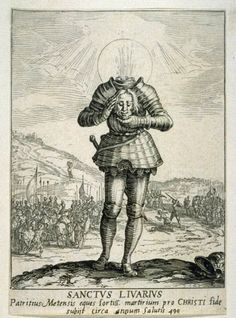 Saint Livier by Jacques Callot, 1632