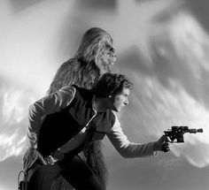 Rare Star Wars Return of the Jedi promo photo from 1982
