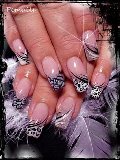 Beautiful Photo Nail Art: 18 Unique Nail Art Designs