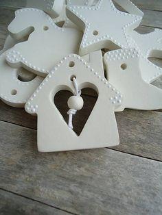details / Ozdoby vianočné biele - sada Keď biele, tak biele...