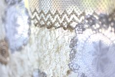 Post image for DIY Lace Doily Curtain