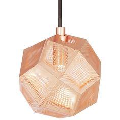 Etch Mini pendel fra Tom Dixon. En stilig taklampe som har fått inspirasjon fra sitt større familiem...