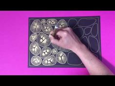 (8) Studio Jocelyn - Zentangle Rocks - YouTube