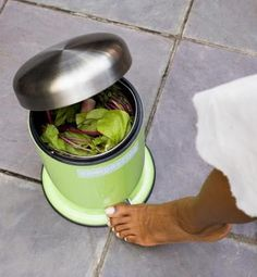 Compost Bin    http://greenliving.nationalgeographic.com/make-cheap-compost-bin-out-houshold-materials-2196.html