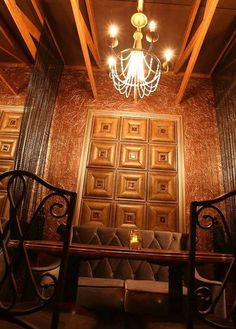 XIANKE 3D WALL PANEL (@HainingXianke) | Twitter Leather Wall Panels, 3d Wall Panels, Pvc Board, Wall Decorations, Wall Sticker, Tiles, Chandelier, House Design, Colours