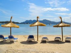 Puerto pollensa-came here twice when my 2 kids were babies/toddlers. Menorca, Sunny Beach, Summer Beach, Ibiza, Wonderful Places, Beautiful Places, Puerto Pollensa, That Way, Places Ive Been
