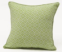 PARROT GREEN JAIPURI GEOMETRIC CUSHION – SHAKIRAAZ HOMEWARES