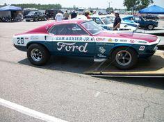 Vintage Drag Racing - Pro Stock - Sam Auxier Jr