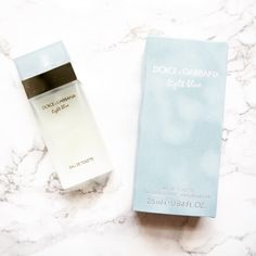 Reviewed: Dolce & Gabbana Light Blue   Are you looking for the perfect scent that will take you from Summer to autumn? Then I think I have found the perfect one with Dolce & Gabbana's Light Blue.  It is so fresh and light. It claims to have notes of bluebell apple and jasmine but those sweeter notes aren't really discernible. The top note is Sicilian lemon which really shines through.  This scent is so easy to wear the only downside is is that it is difficult to layer. I just spritz it on…