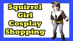 010baad0f86 Squirrel Girl Cosplay Thrift Shop Trip - Day 855