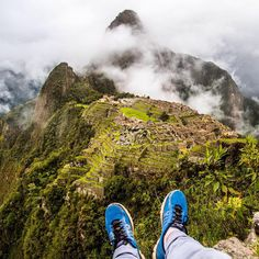"""What a view! Location: Machu Picchu, Peru.  Photo Credit: @chaseteron"""