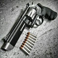 Smith & Wesson .357 MAG 8 Shot Revolver.