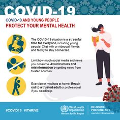 To all young people, you can protect your mental health during #COVID19 by  ✅Reaching out to a trusted adult or professional, if you need help ✅Limiting social media use to avoid misinformation ✅Doing physical exercises or meditating at home Public Health, Mental Health, Health Class, School Counseling, Health Advice, Trends, Health And Safety, Young People, Physical Fitness
